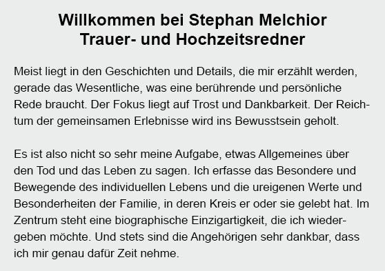 Trauerredner in 74232 Abstatt, Löwenstein, Talheim, Neckarwestheim, Oberstenfeld, Flein, Lehrensteinsfeld oder Untergruppenbach, Beilstein, Ilsfeld